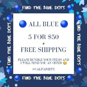 🔵 5 for $50 + Free Shipping Sale 🔵